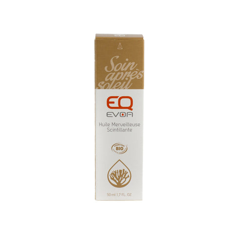 EQ eco friendly Shimmering Sun Tan Oil