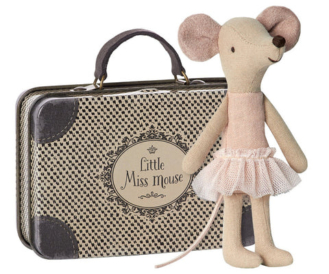 malice big ballerina sister with metal suitcase