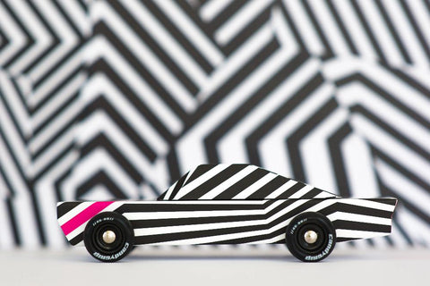 Candylab Americana - Ghost wooden toy car