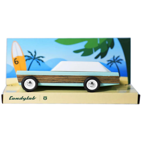 Candylab Junior - Woodie wooden toy car