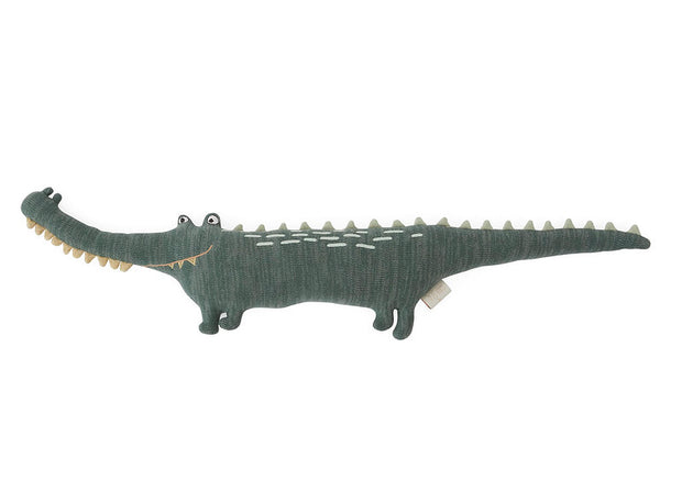 OYOY Mr. Crocodile Gustav Dark Green kids toy