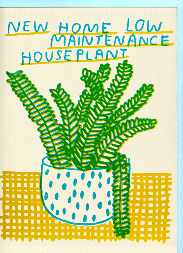 People I've Loved New Home Houseplant Card