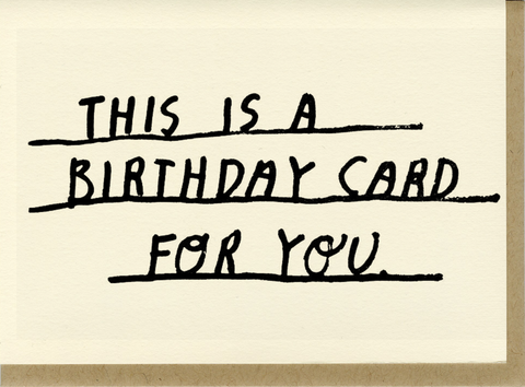 People I've Loved Birthday Card For You