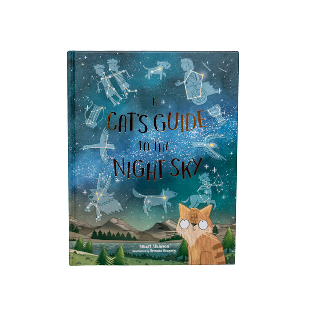 Laurence King Publishing A Cats Guide To The Night Sky Book