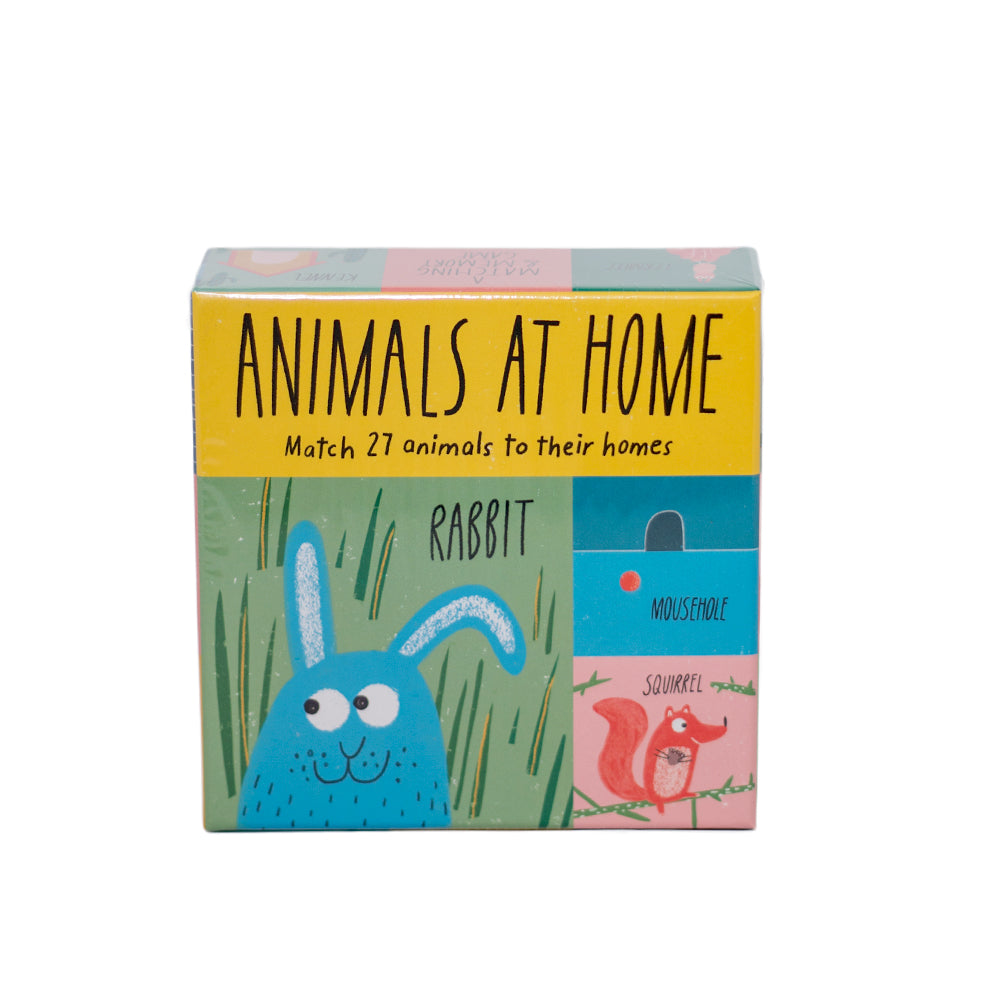 Laurence King Publishing Animals At Home Matching & Memory Game
