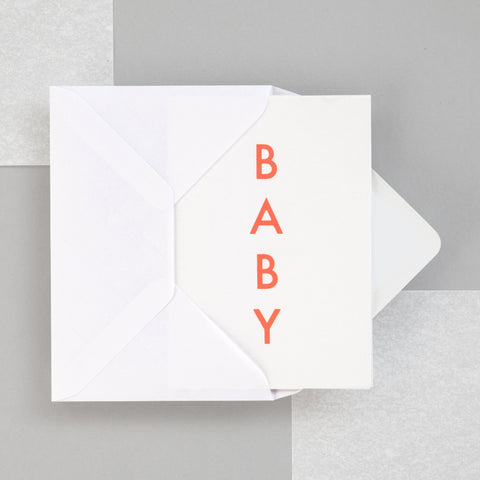 Ola Studio Foil Blocked Card - Baby