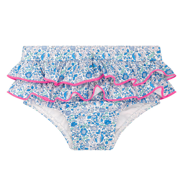 sunuva baby girl liberty print swim. nappy pants