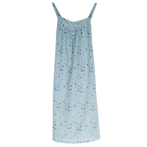sunchild girls hibiki star print blue summer dress