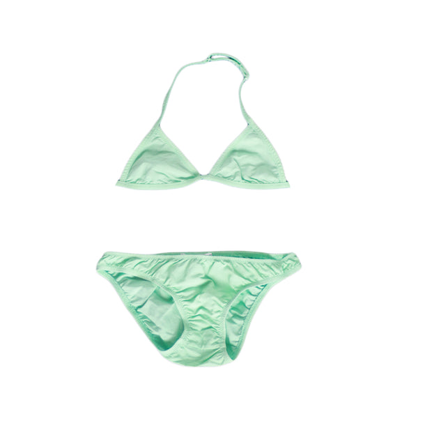 sunchild girls caleta aquamarine blue 2 piece bikini