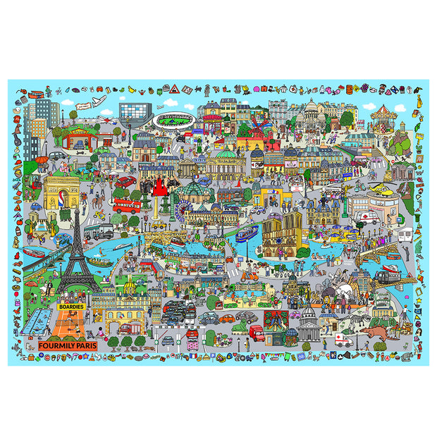 Les Boardies The Wonder Play Mat-パリ市
