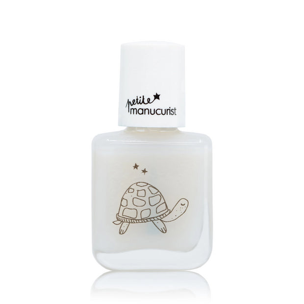 Manucurist non-toxic water-based Nail Polish top coat Brigitte the turtle for kids
