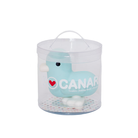babywatch canar blue duck saving bank money box