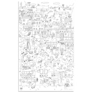 Makii Giant Colouring Picture City