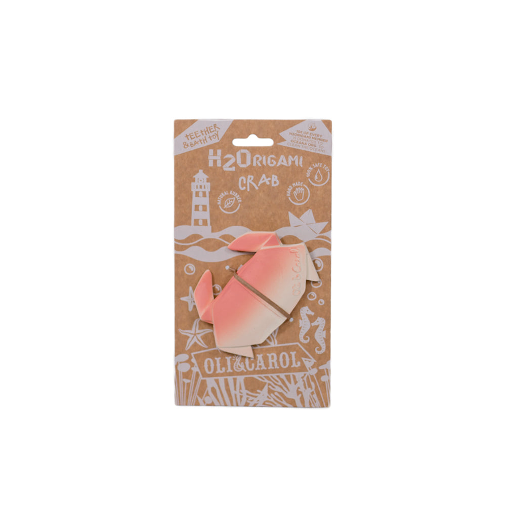 Oli&Carol H2Origami Teether Crab