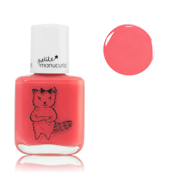 Manucurist non-toxic water-based Nail Polish Kiki the kitten for kids