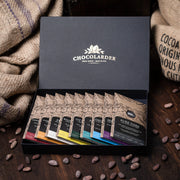 Chocolarder Craft Collection Gift Box with 9 chocolate bars