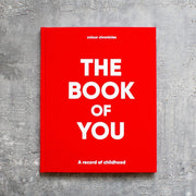 Colour Chronicles The Book of You in red
