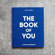 Colour Chronicles The Book of You keepsake in blue
