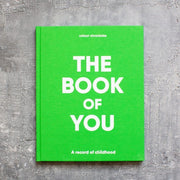 Colour Chronicles The Book of You in green