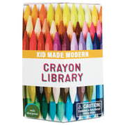 Kid Made Modern 60 non toxique Crayon Library