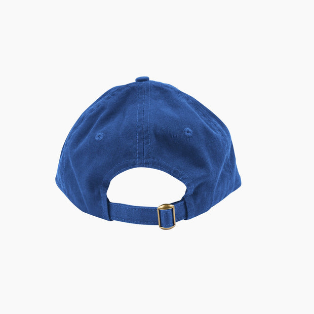 poketo creative cap in blue back