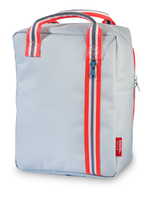 Engel Backpack Medium Zipper 2.0 Light Blue
