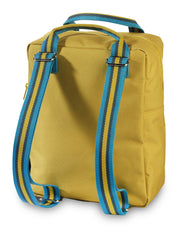 Sac à dos Engel Medium Zipper 2.0 Jaune moutarde