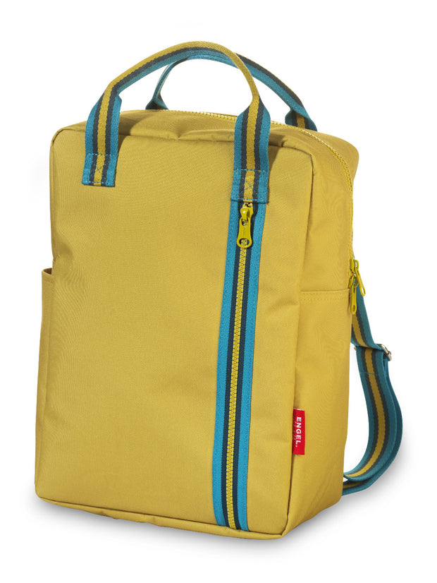 Engel Backpack Large Zipper 2.0 Mustard yellow