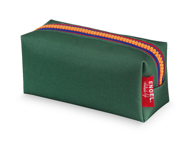 engel zipper pencil case green