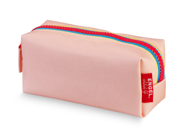 engel zipper pencil case pink