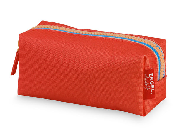 engel zipper pencil case red
