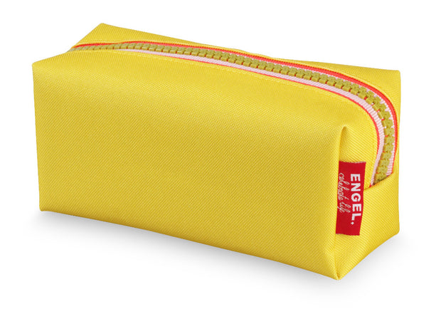 engel zipper pencil case yellow