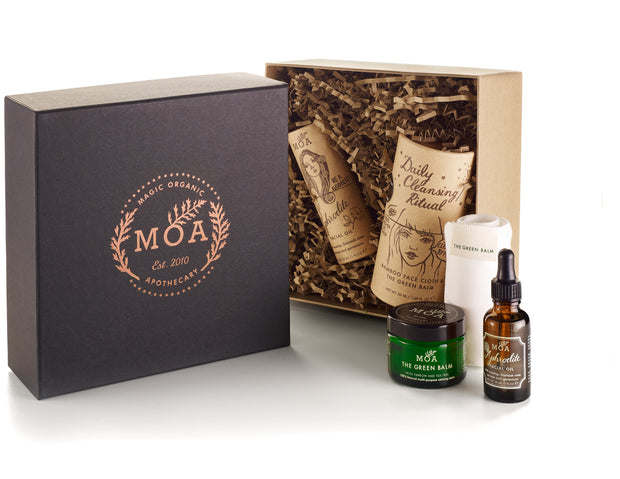 Magic Organic Apothecary Gift Box Facial Set
