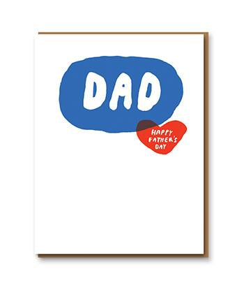 Egg Press Card - Fat Bubble Fathers Day
