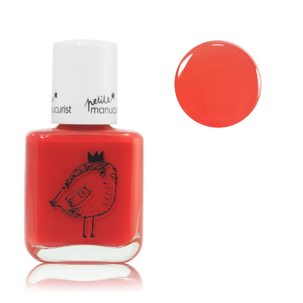 Manucurist non-toxic water-based Nail Polish lunette the bird for kids