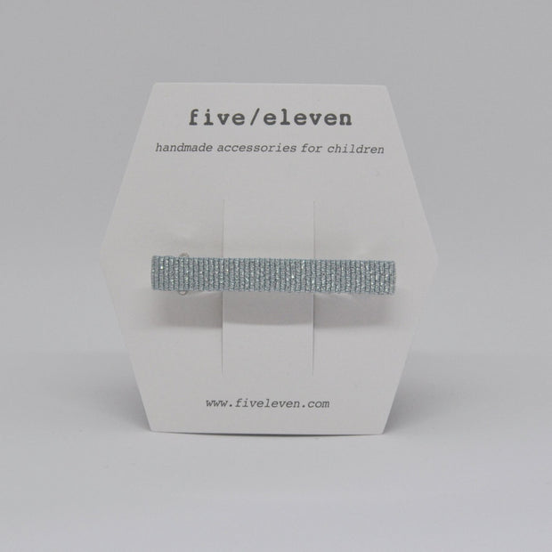 Five/Eleven Hair Barrette Shine clip - blue