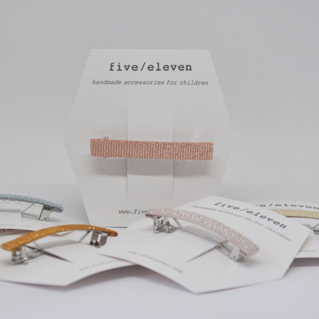 Five/Eleven Hair Barrette clips