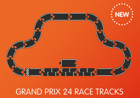 waytoplay grand prix flexible 24 race track
