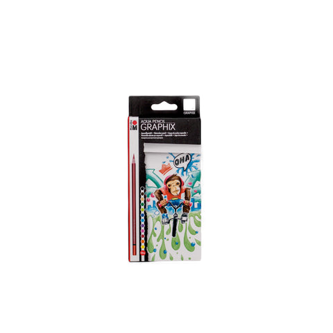 Marabu Graphix Aqua Pencil Funky Monkey pack of 12