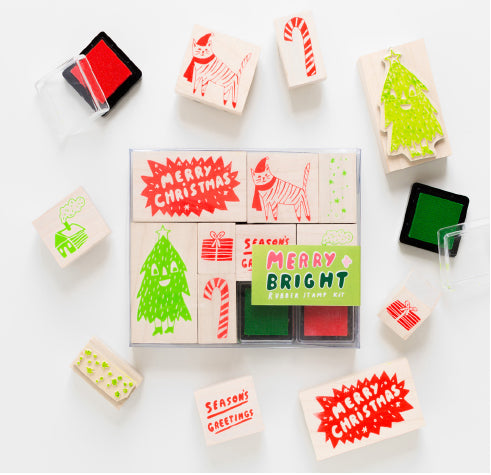 Yellow Owl Workshop Stamp Kit L - Merry & Bright