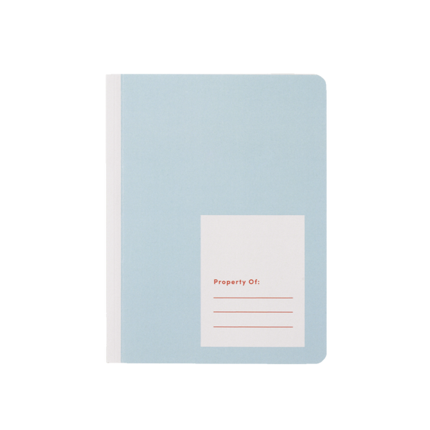 appointed kids blue notebook