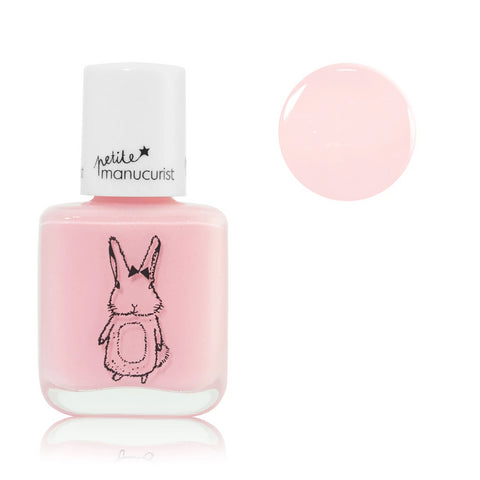 Manucurist non-toxic water-based Nail Polish rose the rabbit for kids