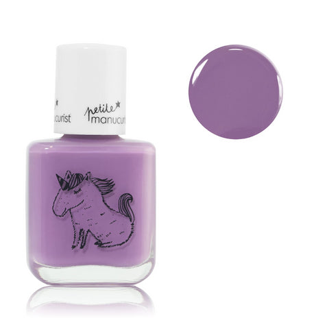 Manucurist non-toxic water-based Nail Polish lily the unicorn for kids