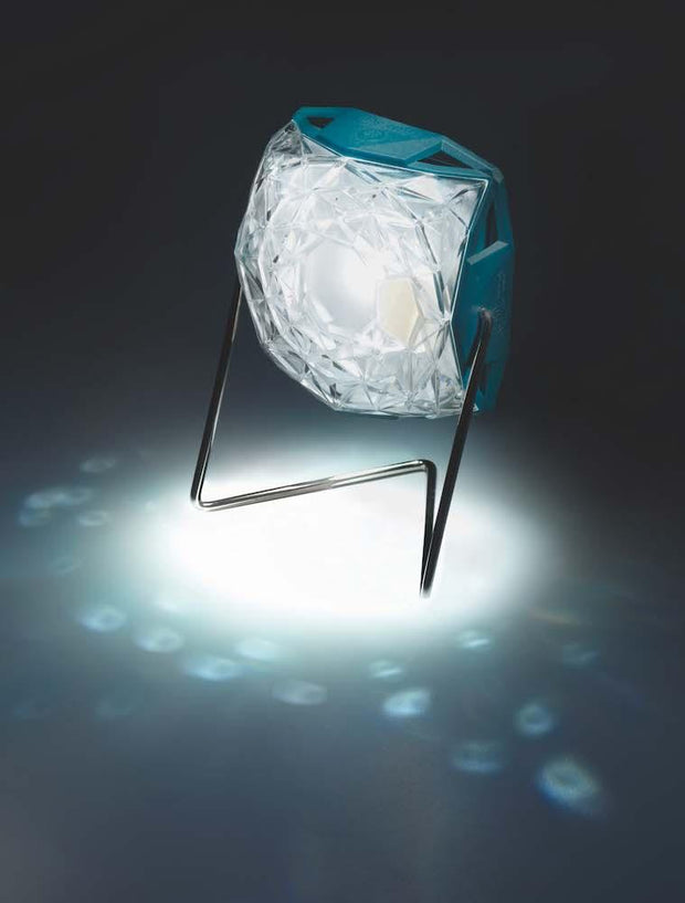 little sun diamond solar powered light in night time