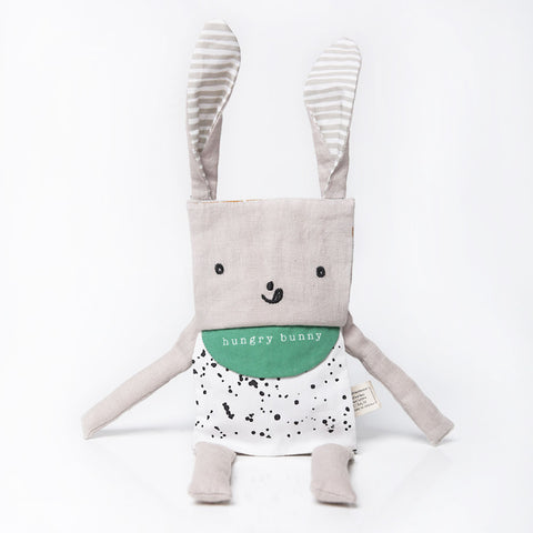 Wee Gallery coton biologique Flippy Friend soft toy Bunny