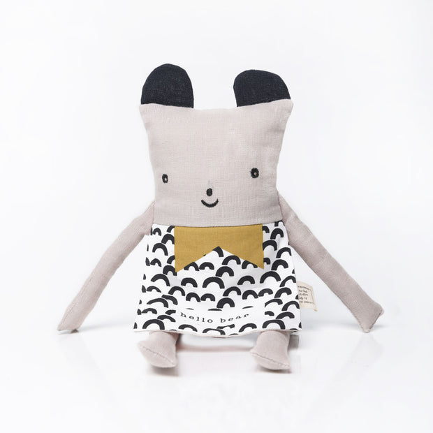 Wee Gallery Organic cotton toy Flippy Friend Bear
