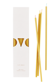 ovo things 10 beeswax  candles