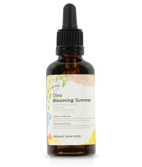Unii organic Body Oil - Blooming Summer
