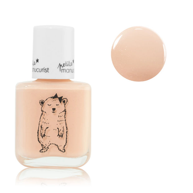 Manucurist non-toxic water-based Nail Polish joy the bear for kids