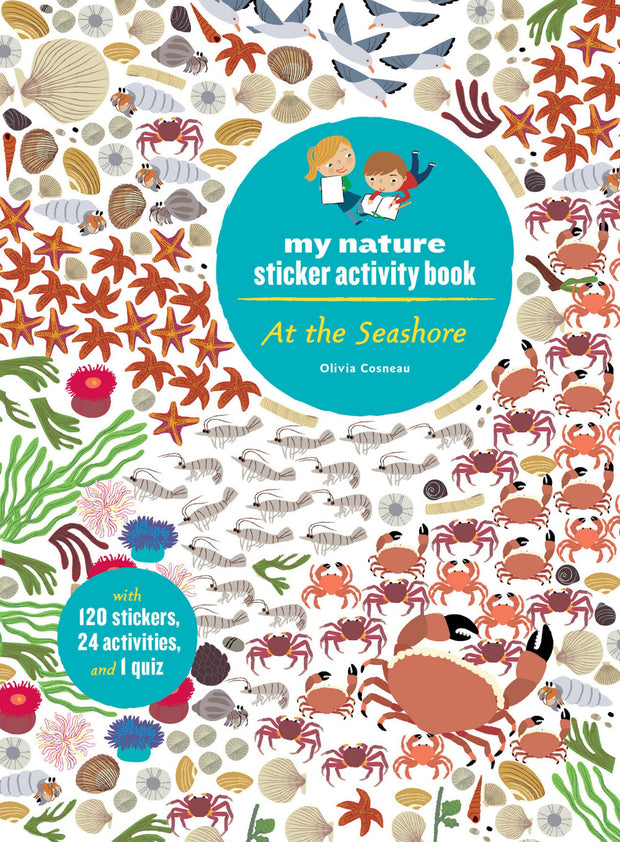 PAPress My Nature Sticker Activity Book - At The Seashore